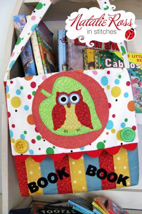 Natalie library bag