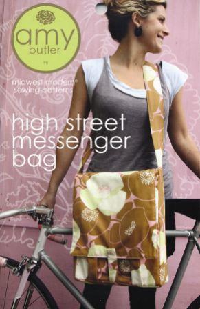 AB024 High Street Messenger Bag